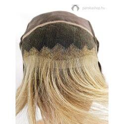 Gisela Mayer Luxery Lace A HH félhosszú paróka emberi hajból - 18/22+6 - középszőke / szőke + csokoládé tő