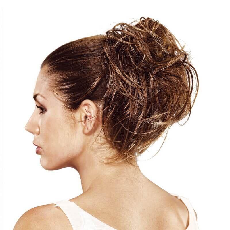Gisela Mayer Pinacolada konty póthaj hajgumival szintetikus műhajból