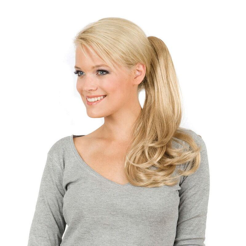 Gisela Mayer Spring B EH hagyományos pótcopf póthaj csattal emberi hajból