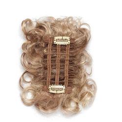 Gisela Mayer Clippy Curly hullámos elasztikus csatos póthaj szintetikus műhajból - 14/26 (középszőke / szénaszőke)