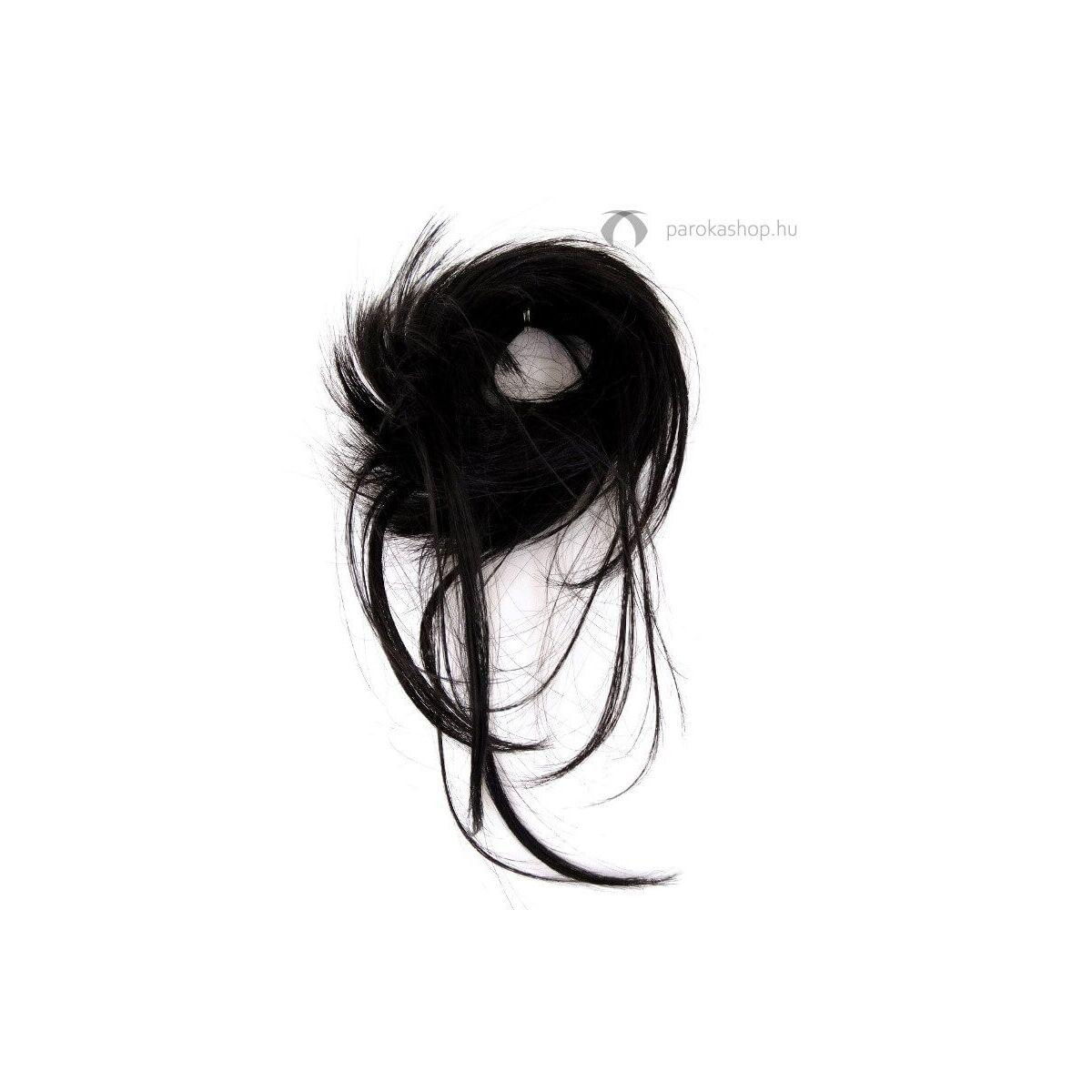 Gisela Mayer Long Spike Scrunchie egyenes rövid hajgumis póthaj konty szintetikus műhajból 18 cm