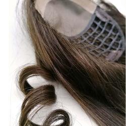 Gisela Mayer Reunion HH csatos póthaj fejtetőre emberi hajból - 4 (középbarna)