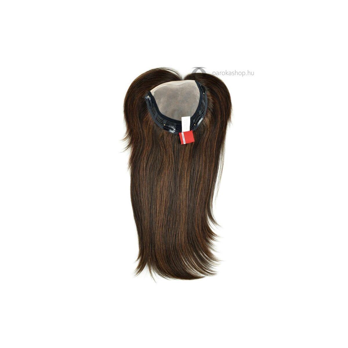 Gisela Mayer Extra Long HH Filler csatos póthaj fejtetőre női félparóka hajpótlás pepi tupé emberi hajból