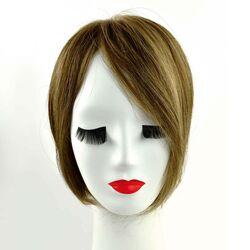 Gisela Mayer Magic Top B HH csatos póthaj fejtetőre emberi hajból - 24/18T (világos aranyszőke / hideg középszőke)
