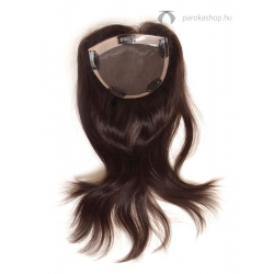 Gisela Mayer Magic Top C HH csatos póthaj fejtetőre emberi hajból - 4 (középbarna)