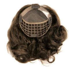 Gisela Mayer Nancy HH csatos póthaj fejtetőre emberi hajból - 33/32 (sötét gesztenye / vad tűz)