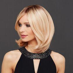 Mayer Hair Luxery Lace K HH félhosszú paróka emberi hajból - 140/22+8 - nádszőke / szőke + világosbarna tő