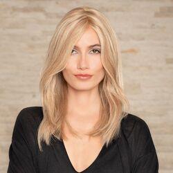 Gisela Mayer Sympathy Mono Lace Deluxe HH hosszú paróka emberi hajból - 15/26 - mézszőke / svédszőke