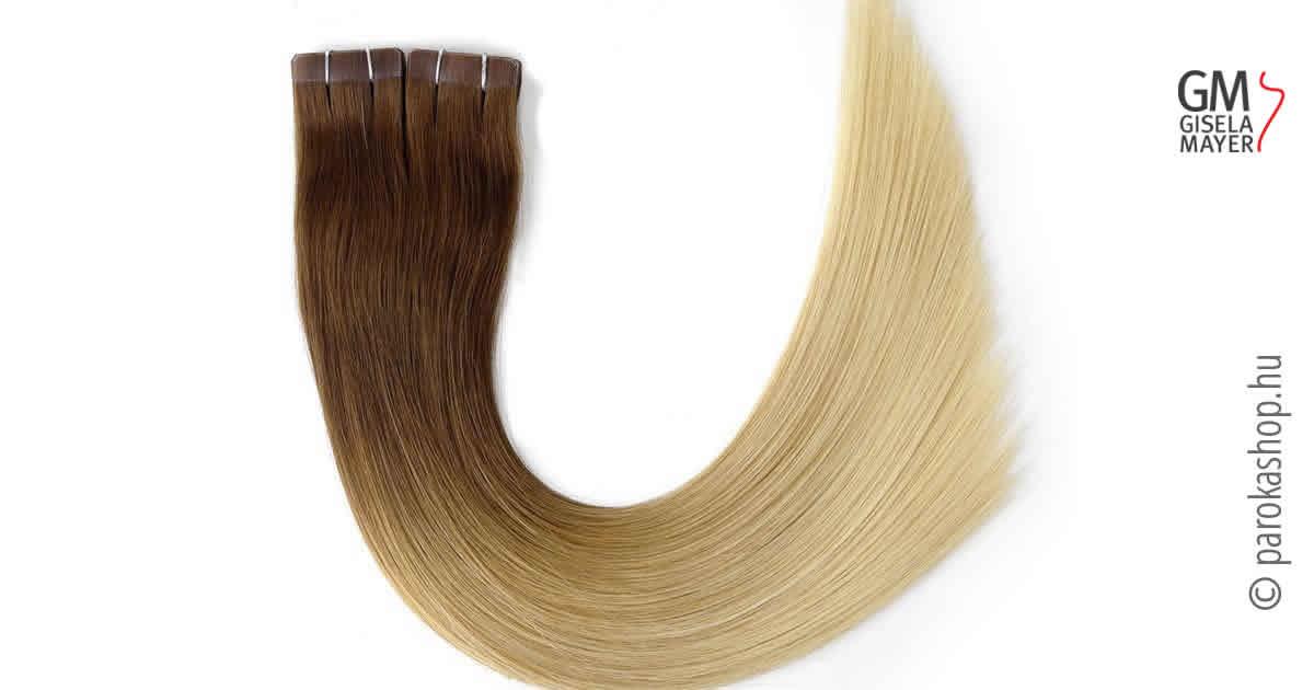 Ragasztócsíkos póthajak hajhosszabbításhoz