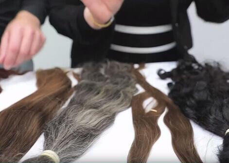 A 3D hajpótlás natúr, kezeletlen európai leányhajból készül